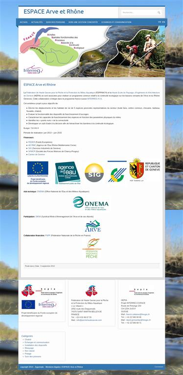 Formation Wordpress Annecy, Espace Arve et Rhône